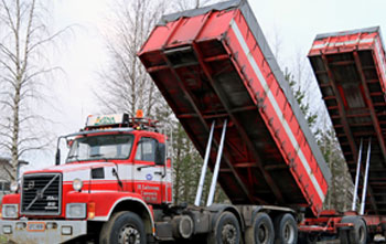 Trucks that are using the ICS product, Cold Load Release agent
